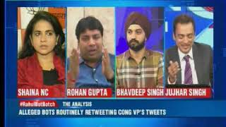 Smriti links retweets on Rahul's tweets to bots, will we spot fakes and bots? - NEWSXLIVE