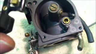 how to clean carbs on a honda 4 stroke boat motor youtube rh youtube com
