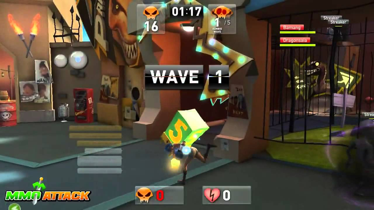 Brawl Busters - Tutorials and Co-op Gameplay