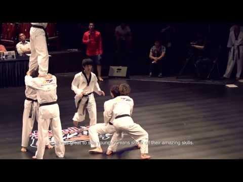 תחרות טריקים עם טאקוונדו - Red Bull Kick It 2013