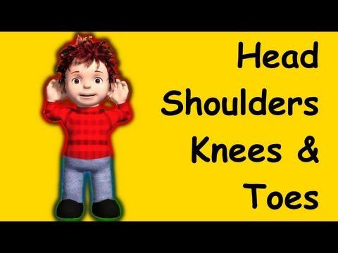 Muffin Songs – Head Shoulders Knees and Toes Tekerlemeler ve İngilizce Çocuk Şarkıları