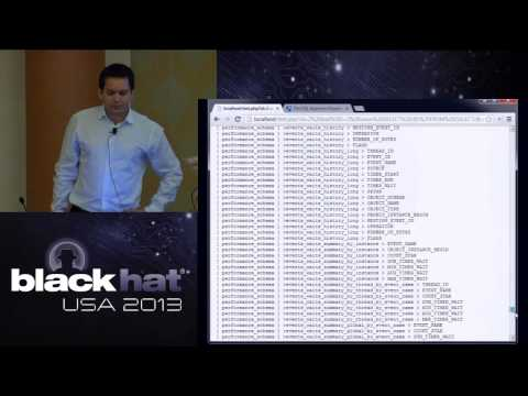 BlackHat USA 2013 - UNION SELECT `This_Talk` AS ('New Optimization and Obfuscation Techniques')%00