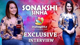 Sonakshi Sinha Exclusive Interview - IGTELUGU