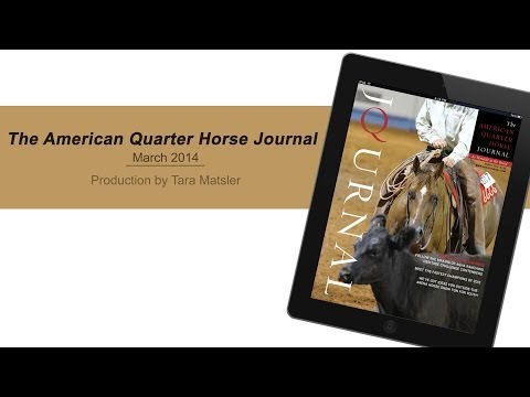 March 2014 American Quarter Horse Journal