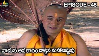 వామన అవతారం దాల్చిన మహావిష్ణువు | Vishnu Puranam Episode 45 | Sri Balaji Video - SRIBALAJIMOVIES