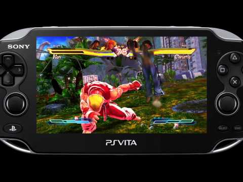 Street Fighter X Tekken PS Vita Captivate Gameplay Video 02