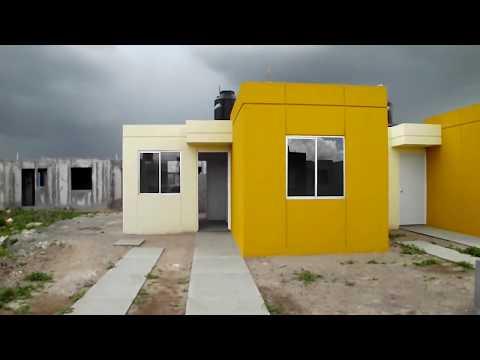 Casas con crédito Infonavit muy económicas en Pachuca de 90 metros con futuro crecimiento