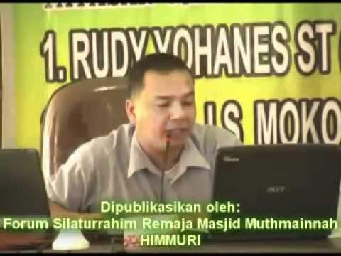 Bagian X - Debat ISLAM VS KRISTEN (Insan LS Mokoginta - Rudy Yohanes)