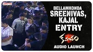 Bellamkonda Sreenivas, Kajal Entry @ Kavacham Audio Launch - ADITYAMUSIC