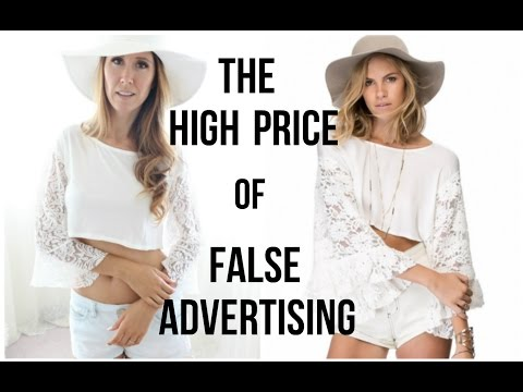 Fast Fashion Try On | The High Price Of False Advertising