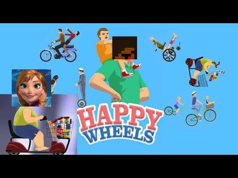 Happy Wheels Part 1: This town aint big for the two of us!