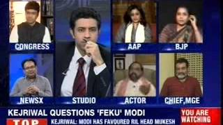India Debates : Should Modi engage Kejriwal in a point by point debate ? - NEWSXLIVE