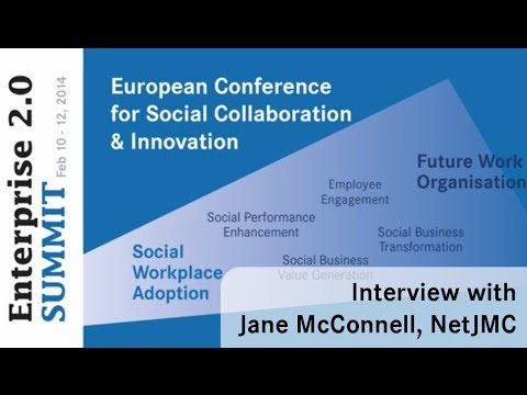 #e20s 2014 - Interview with Jane McConnell on the Digital Workplace Trends