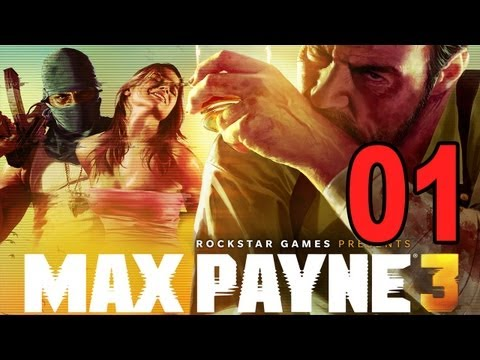 Max Payne 3 - Chapter 1 Part 1 - Something Rotten in the Air (Gameplay Walkthrough Let's Play)