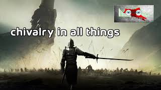 Royalty Free Chivalry in All Things