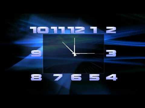 скачать заставка стрелочные часы цифровые на телефон № 13113  скачать