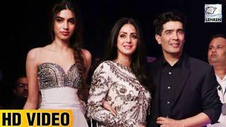 Sridevi's Daughter Khushi Kapoor's Bold Avatar At Lakme Fashion Week | Lehren TV