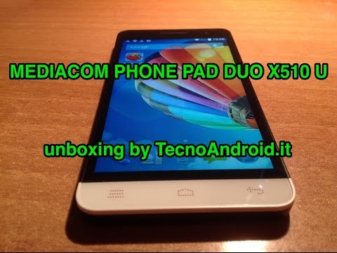 Mediacom PhonePad Duo X510U - unboxing di TecnoAndroid.it
