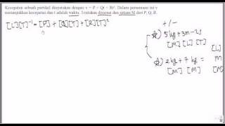 (Fisika SMA kelas X) Soal Besaran dan Satuan Tingkat 1 nomor 4 view on youtube.com tube online.