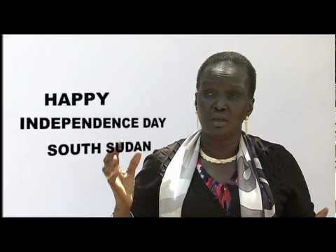South Sudan's Independence - Hopes & Action PSA - REBECCA GARANG