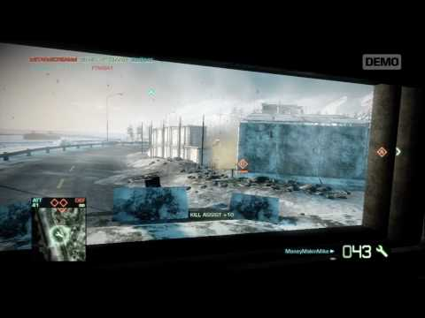 Battlefield Bad Company 2 BMD-3 BAKHCHA AA Demo Footage (HD)