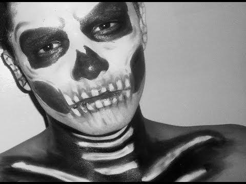 Calavera - Maquillaje para Halloween / Skull Makeup