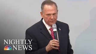 Roy Moore Refuses To Drop Out, Despite Mounting Opposition | NBC Nightly News - NBCNEWS