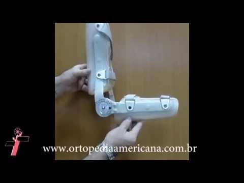 Órtese dinâmica de cotovelo - Ortopedia Americana