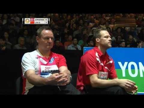 [50FPS] 2016 全英羽毛球公開賽 佐真遜 vs 林丹 Jan O Jorgensen vs Lin Dan  MS QF 20160311