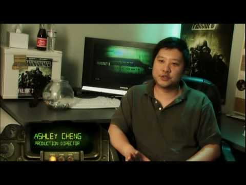 Fallout 3 Collector's Edition(Bonus Disc) Making of DVD - The Vault-Tec Files (Part 1)