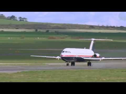 QinetiQ Final Flight of BAC 1-11