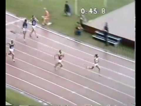 Throwback Thursday - 1973 European Cup 400mH in Edinburgh