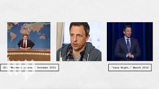 Seth Meyers was on SNL for 12 years. It still has a big impact on 'Late Night.' - WASHINGTONPOST