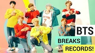 BTS 'DNA' Music Video & New Album Break Records! (UPDATE) - HOLLYWIRETV