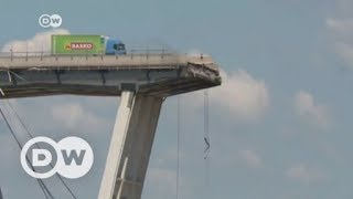 Italy bridge collapse: How structurally sound is Italy's aging infrastructure? | DW English - DEUTSCHEWELLEENGLISH