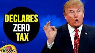 President Trump Declares Zero Tax For Individual | Mango News - MANGONEWS