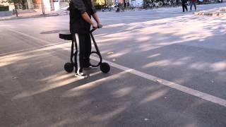 أصغر دراجة في العالم يمكن وضعها في حقيبة الظهر