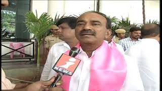 Etela Rajender Face To Face Over  TRS Victory | Calls Its People Victory | iNews - INEWS