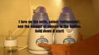 Avent IQ, Baby Bottle Warmer Video Review, By: Twinpossible