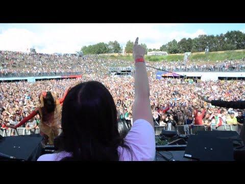 Tomorrowland 2011 - Steve Aoki & Afrojack