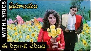 Premalayam Movie Video Song With Lyrics ఈ పిల్లగాలి చేసింది | Salman Khan | Madhuri Dixit - RAJSHRITELUGU