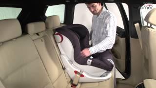 مقعد سيارة ذكي يربط حزام الأمان بنفسه للأطفال