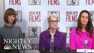 Trump Accusers Share Stories, Senators Call For Congressional Investigation | NBC Nightly News - NBCNEWS