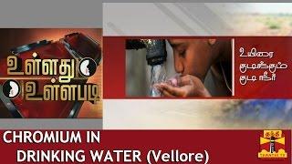 "Ullathu Ullapadi 21-08-2014 Discussion On ""Chromium In Drinking Water"" – Thanthi Tv Show"