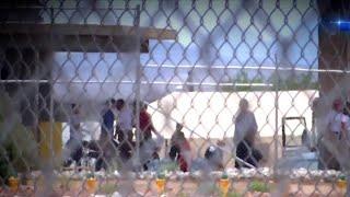 Democratic Lawmakers Tour Migrant Facility In Tornillo, Texas | NBC Nightly News - NBCNEWS