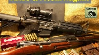Mosin Nagant & AR Rifles