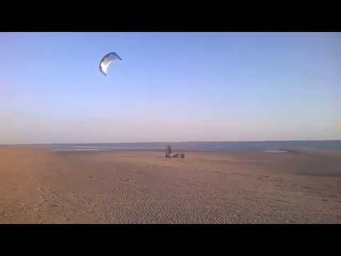 Kiting at Hayling Island