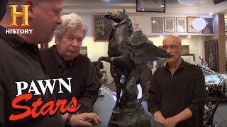 Pawn Stars: Seller's Picault Sculpture Is Fake (Season 2) | History - HISTORYCHANNEL