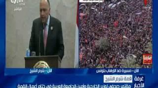 العربي: لا نقبل بأي حديث طائفي داخل الجامعة العربية