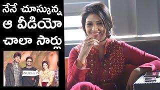 Actress Priyanka Jawalkar About Sharing Stage With Allu Arjun | Taxiwala | TFPC - TFPC